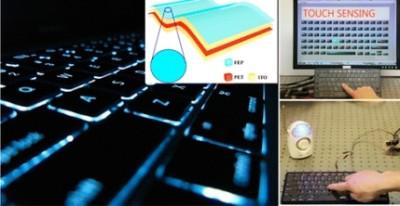Клавиатура вырабатывающая электричество
