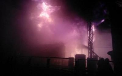 Пожар на Южно-Украинской