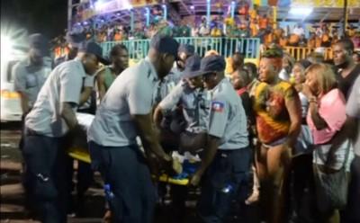 Трагедия на карнавале на Гаити