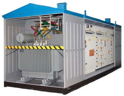 Двухтрансформаторные установки