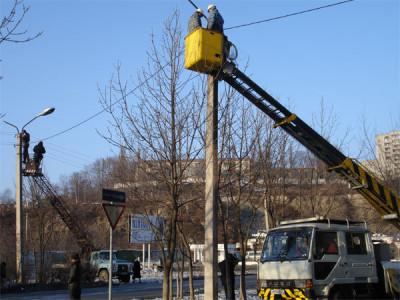Обслуживание уличного освещения