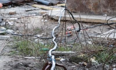 Электрокабель на стройке