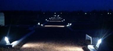 Подсветка мемориала