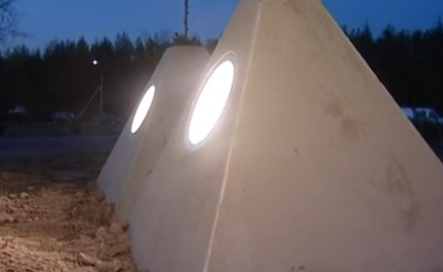 Подсветка Невского пятачка