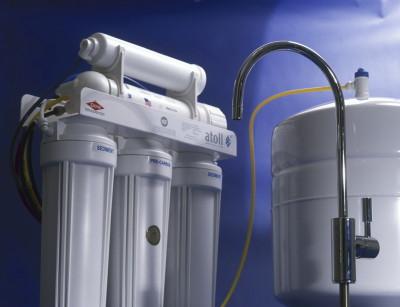 Система тонкой очистки воды