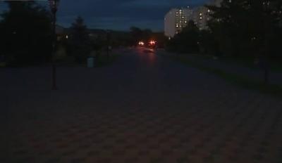 Бульвар без света