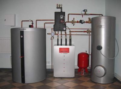 водяное отопление загородного дома