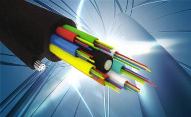 Оптический кабель с тросом