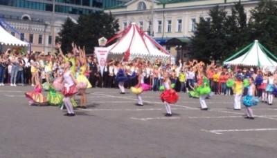 Праздник в Екатеринбурге
