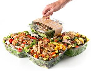 Одноразовые упаковки для продуктов