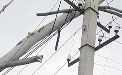 Обрыв провода