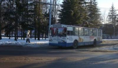 Электротравма в троллейбусе