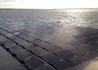 Плавучие солнечные модули