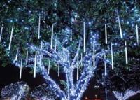 Световой дизайн деревьев