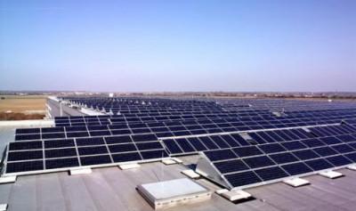 Солнечные батареи для промышленного предприятия