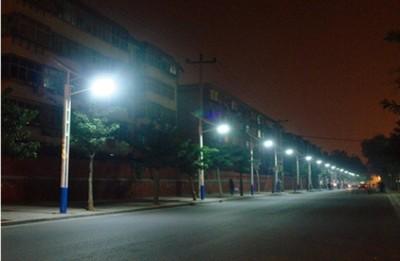 Освещение на фотобатареях