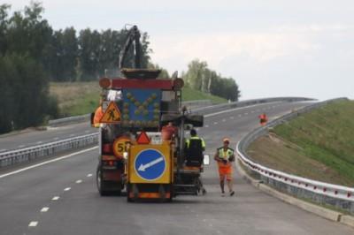 Спецтехника на дороге