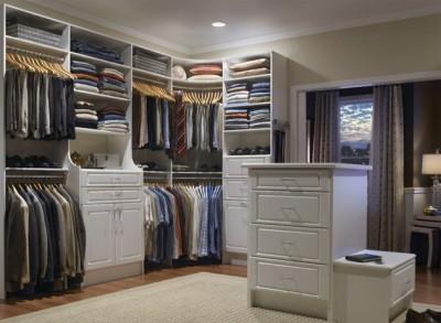 Гардеробная система хранения одежды