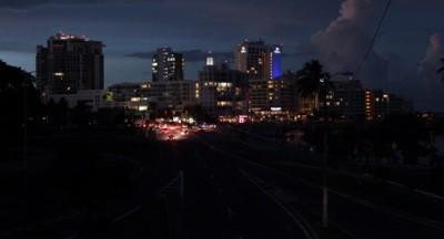 город без света