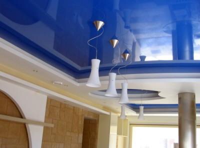 Светильники в натяжных потолках