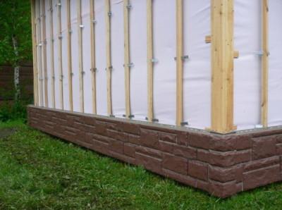 Монтаж деревянной обрешетки для сайдинга
