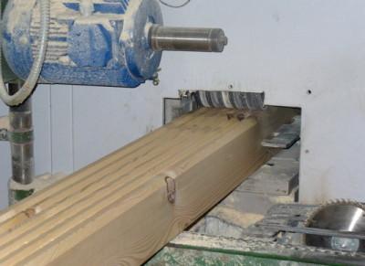 Изготовление профилированного бруса