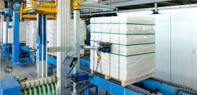 Упаковка газосиликатных блоков