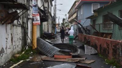 После урагана Мария