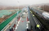 Электрическая трасса в Китае