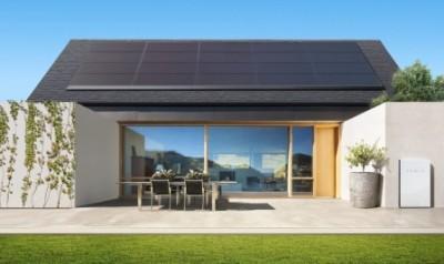 Дом с солнечными модулями
