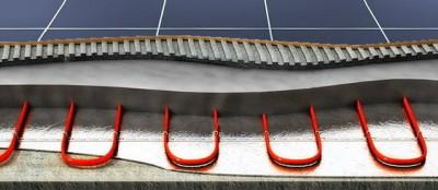 Греющий кабель под стяжку