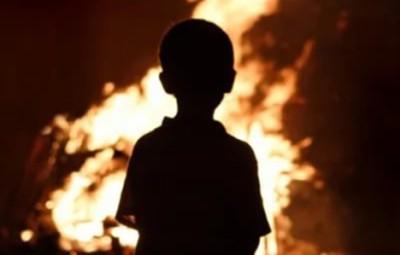 Сгорели дети в Струнино