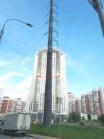 В Москве убирают опоры-гиганты
