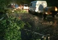 По Барнаулу прошелся ураган