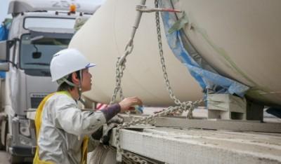Перевозка японских ветряков