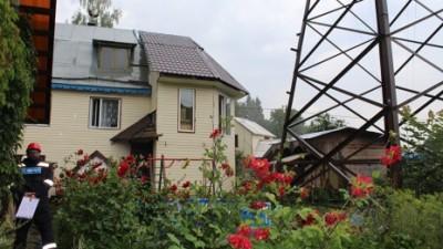 ЛЭП возле дома