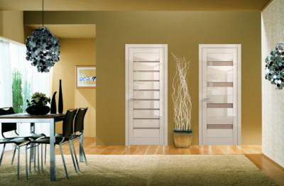 глянцевые двери межкомнатные