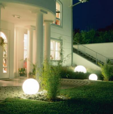 Уличные светильники шары для сада